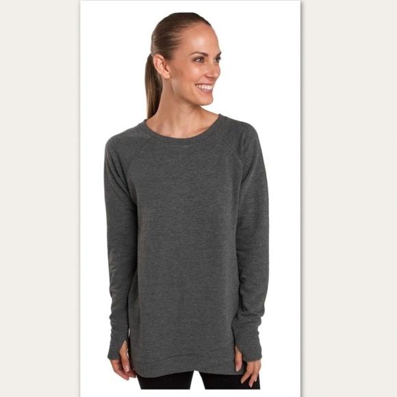Jockey Womens Cozy Criss Cross Pullover Sweatshirt Sweatshirt